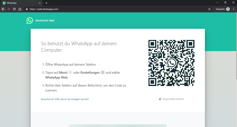 WhatsApp am Computer nutzen – so geht's